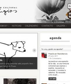 Página principal de la Asociación Artilugios